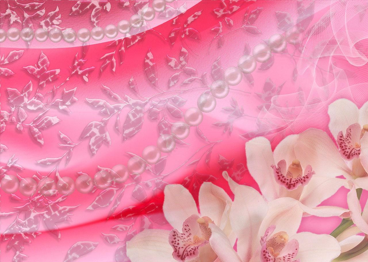 Розовый бледный фон