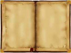фон открытая книга