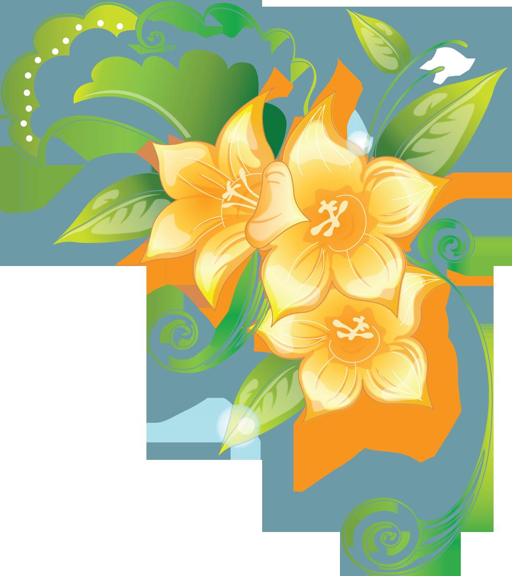 Уголок с цветами фото