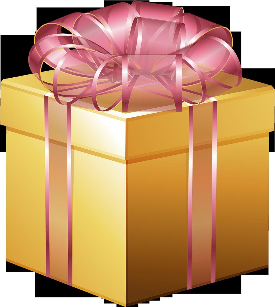 Коробочка с подарком png 11