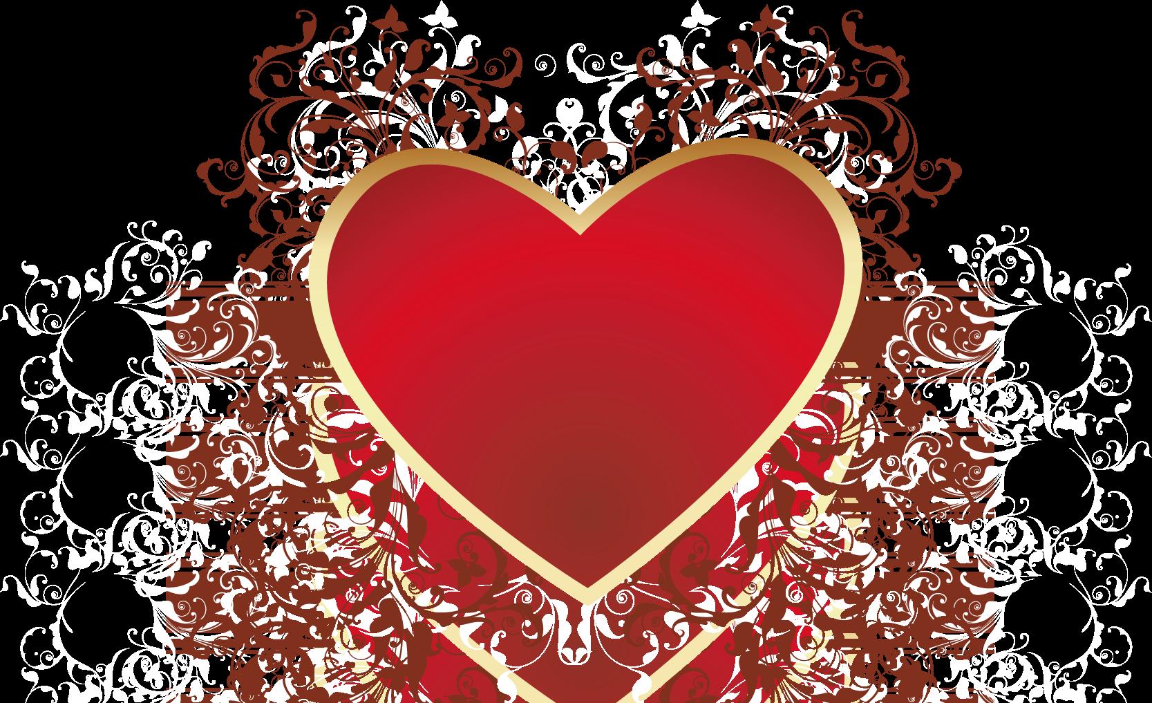 Узоры с сердечками фото