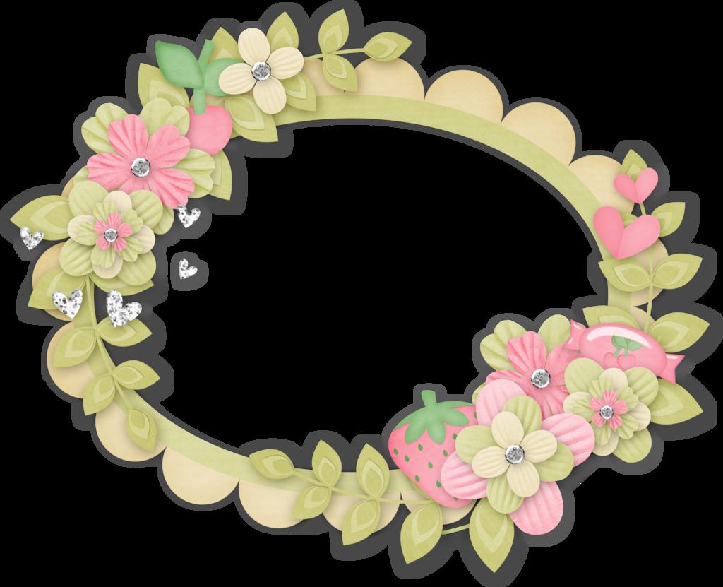 Шаблон для фото цветы детские