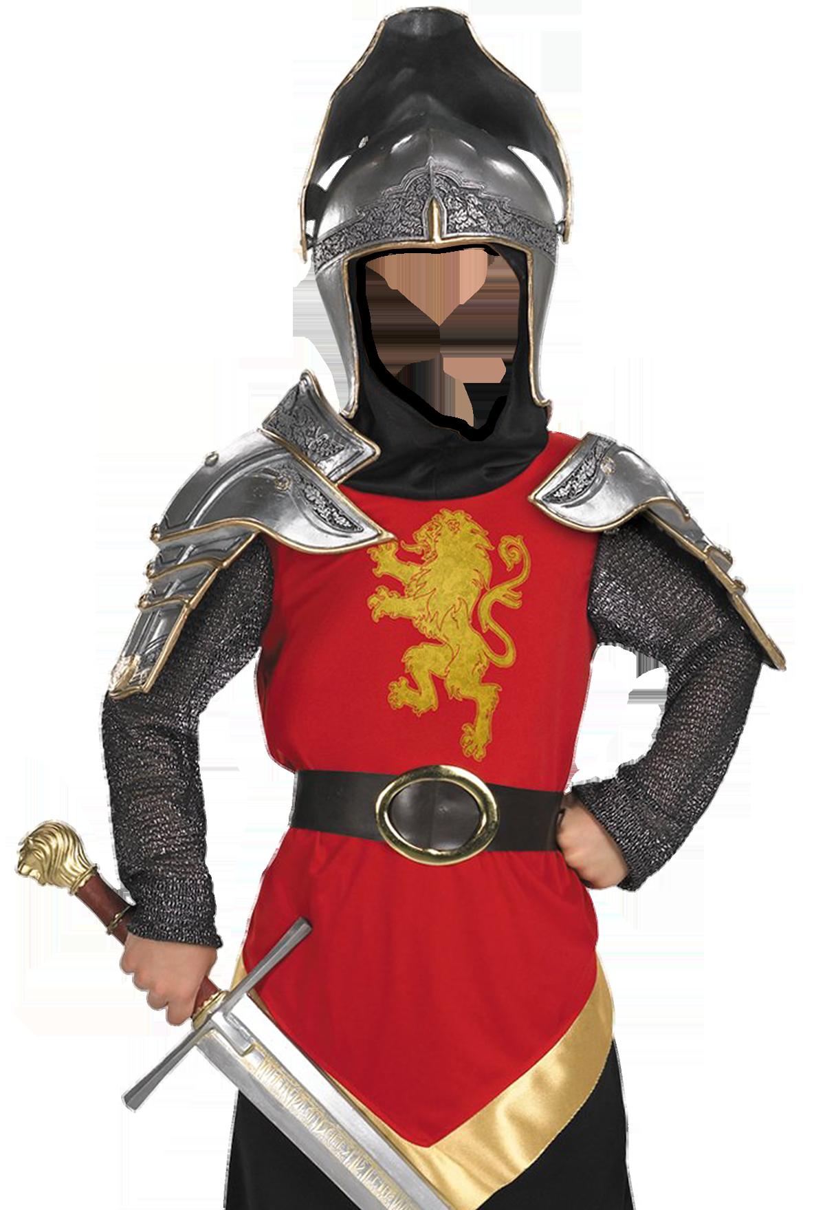 Элемент рыцарского костюма своими руками