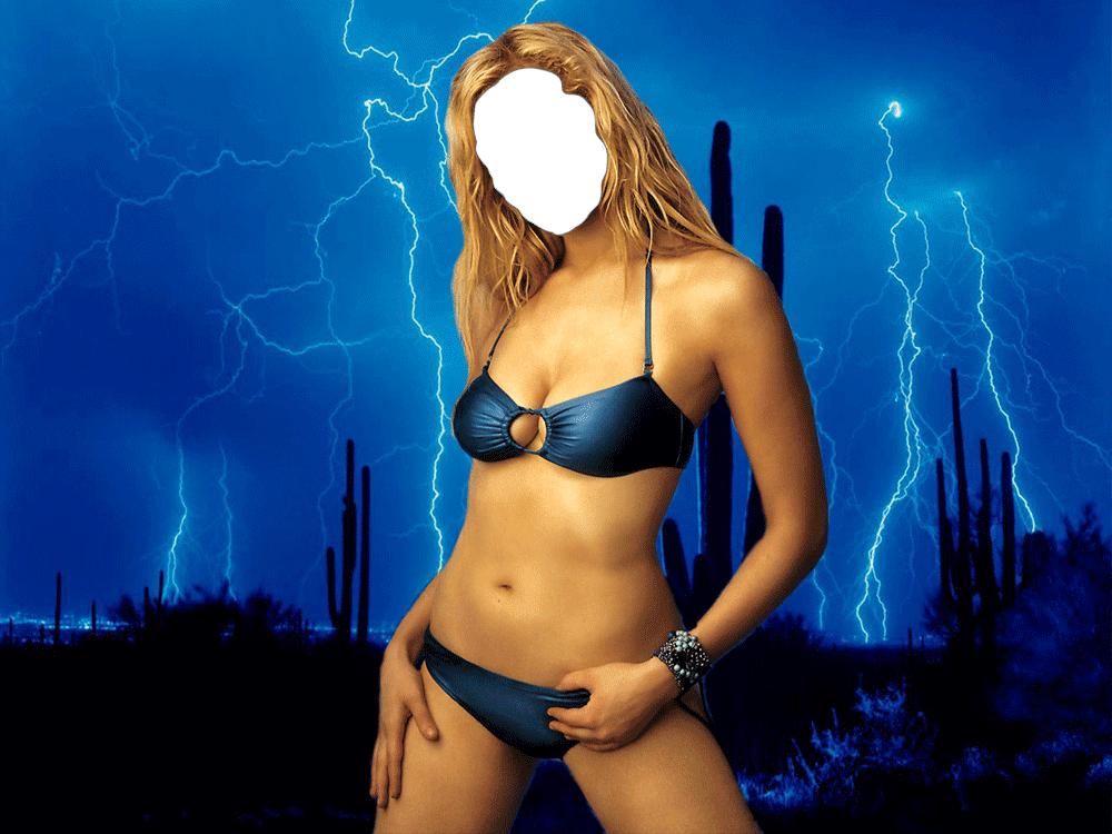 Женщины в сексуальной одежде и голые