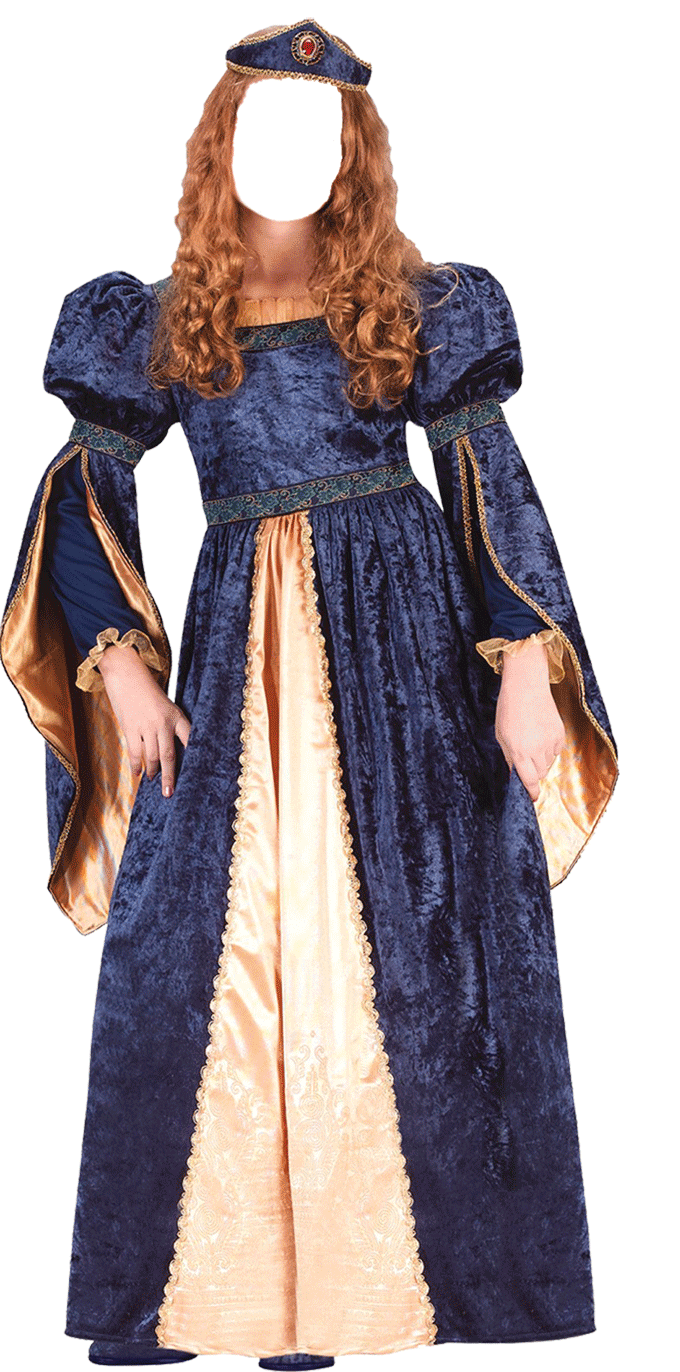 Женский костюм шаблон