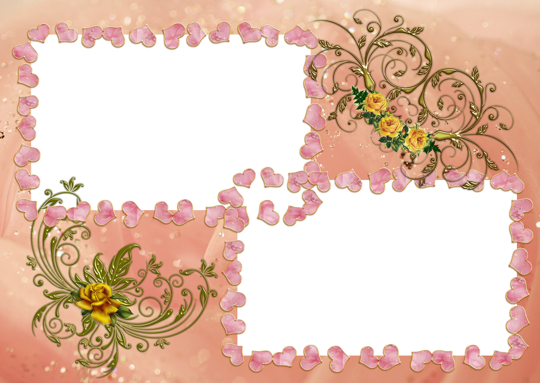 Шаблоны для открыток и рамки