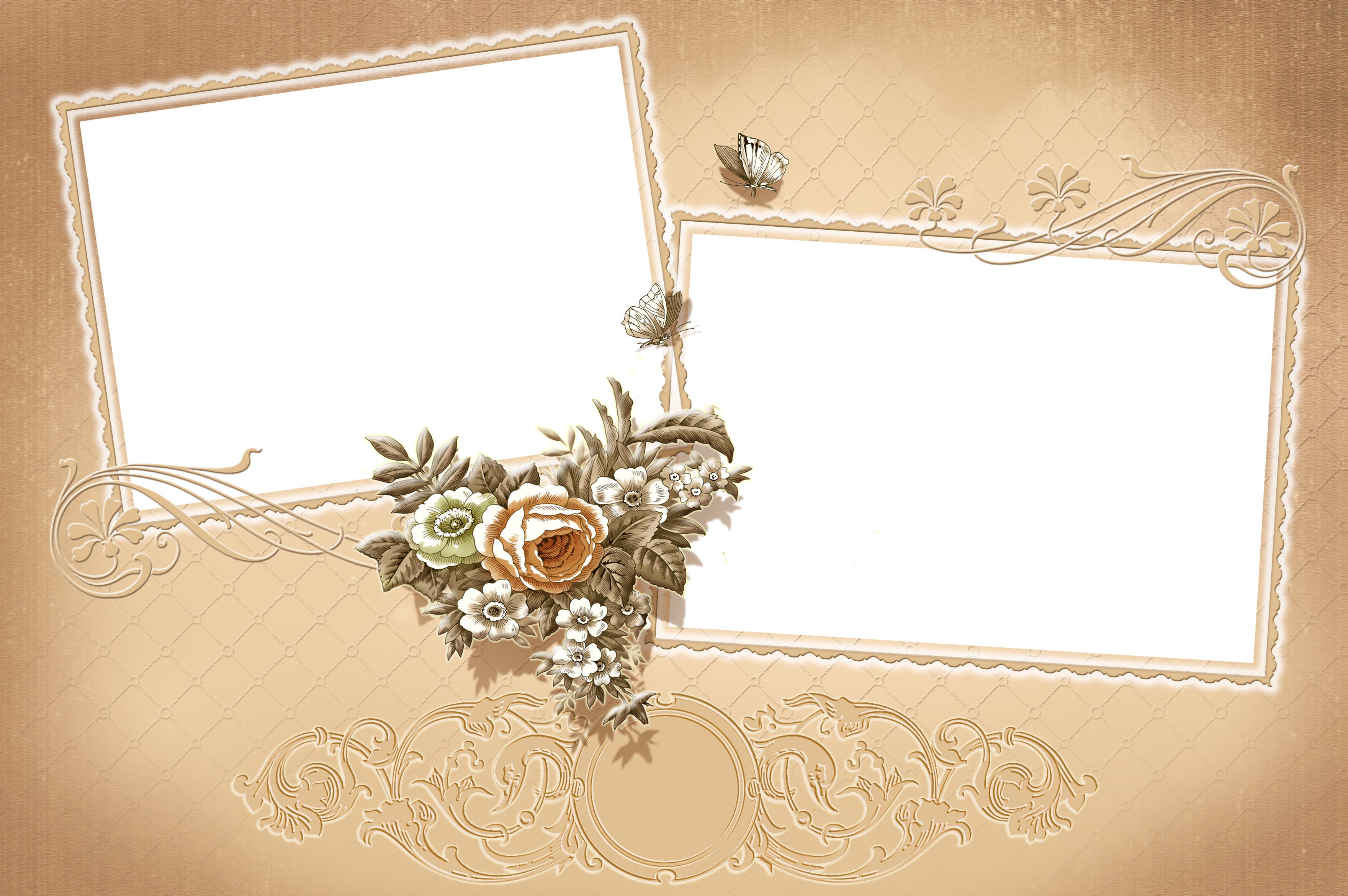 Фотошоп макет для открытки