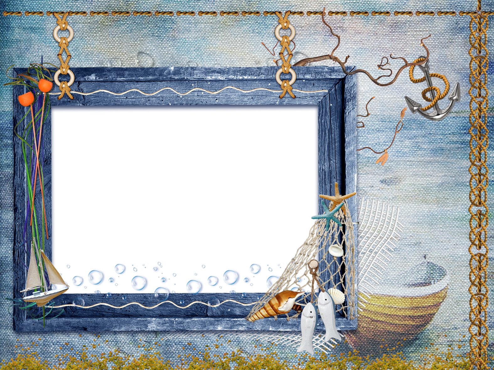 Рамка для фото моряку