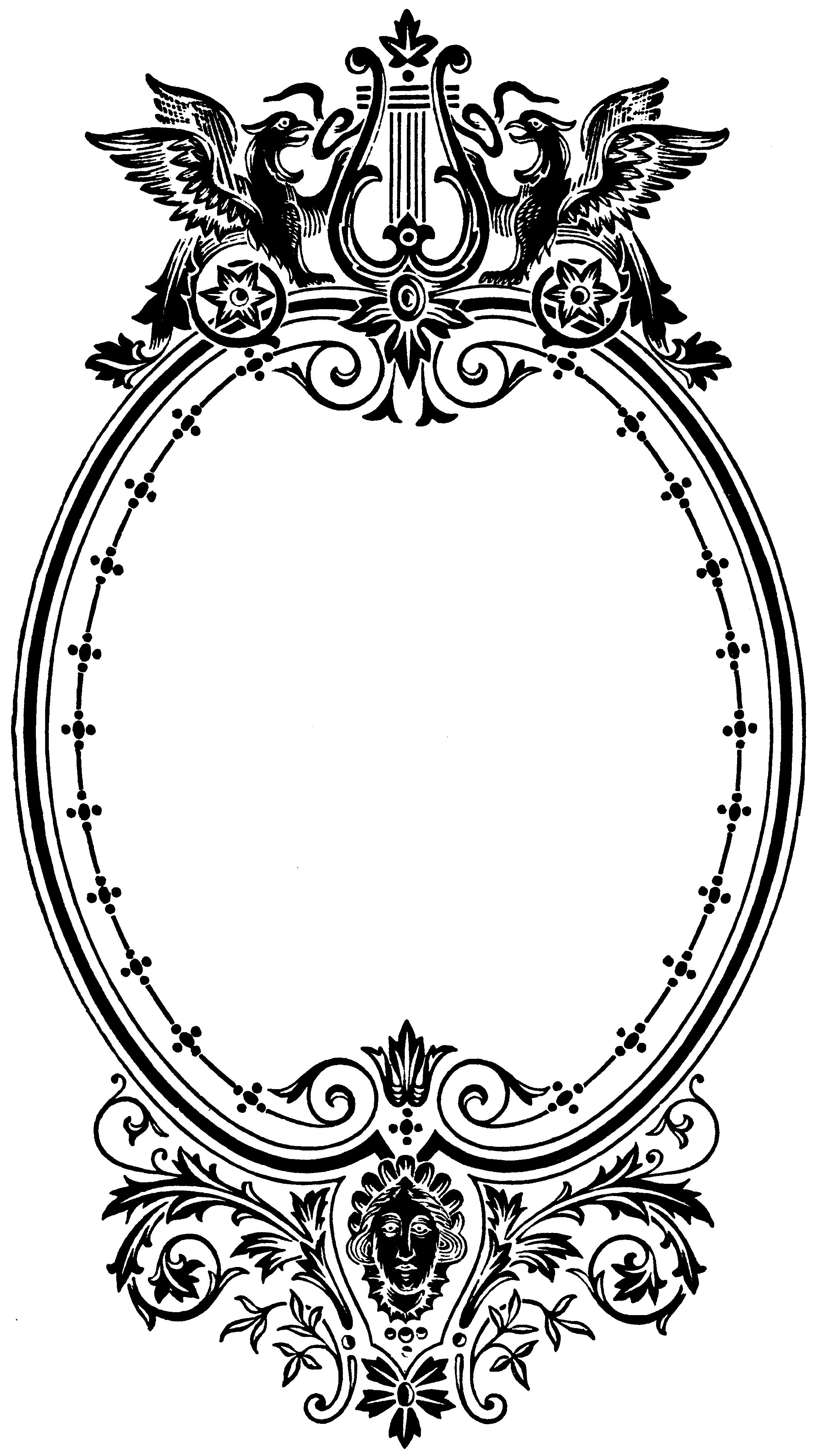 рамки для черно белых портретов