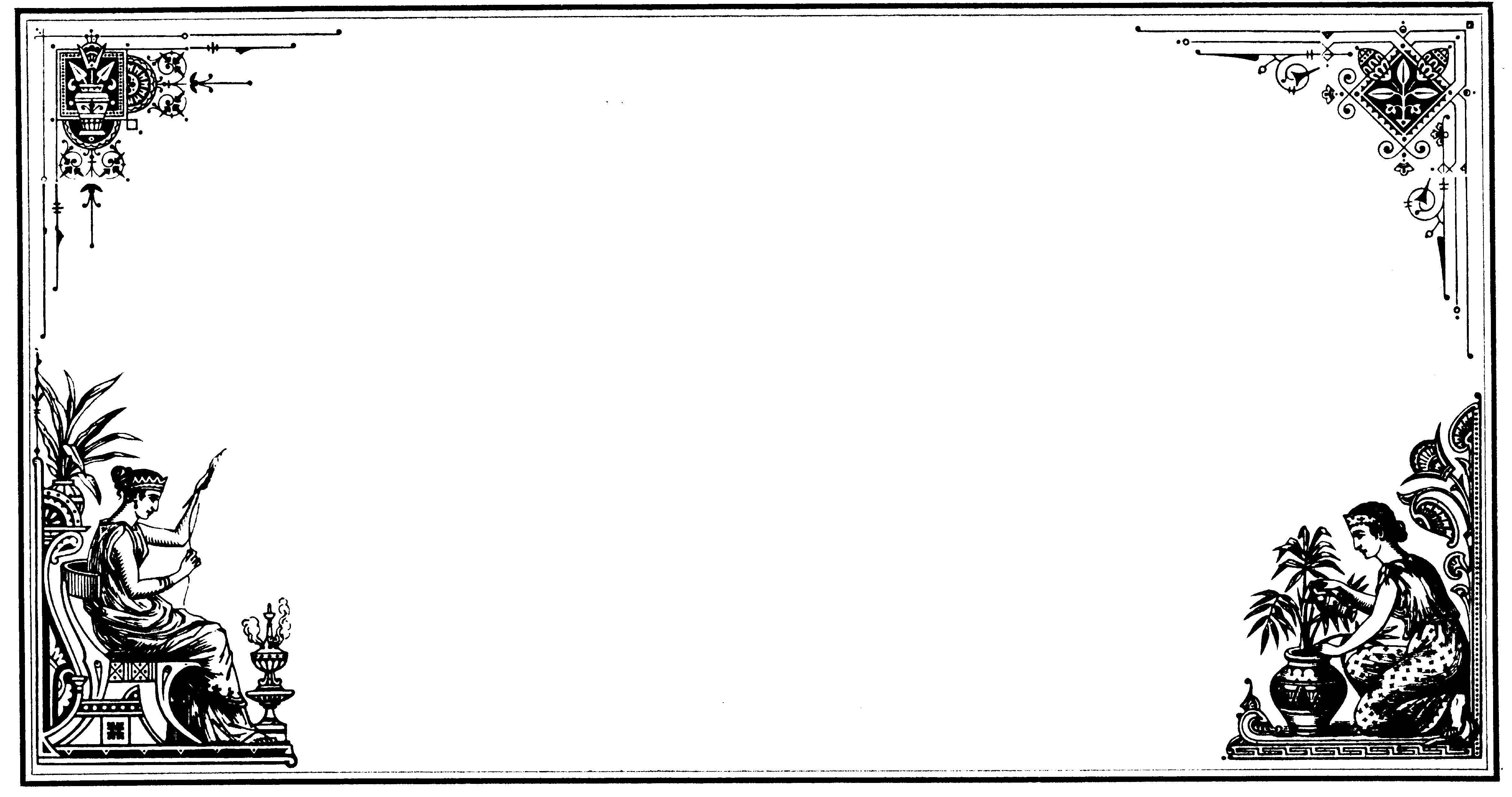 Черно белые открытки без текста