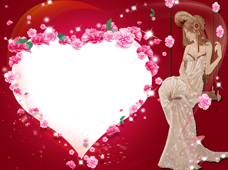 Картинки любовных рамок